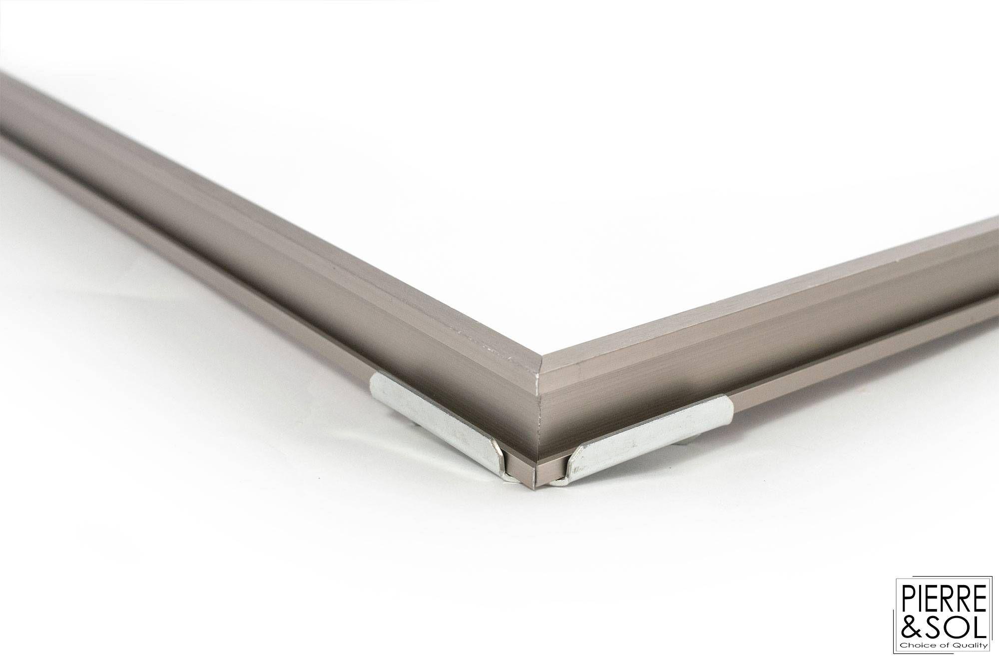 Proma Ar Cadre De Paillasson En Aluminium Couleur Inox