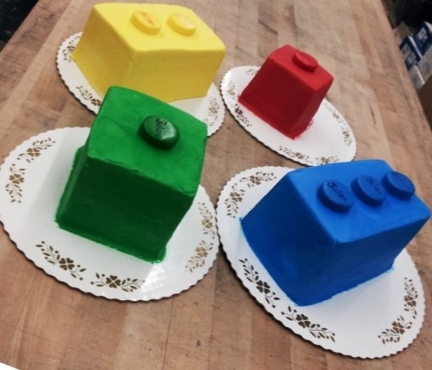 Lego Bricks Shaped Cakes Fun Cakes for Any Occasion Pinterest - one week notice