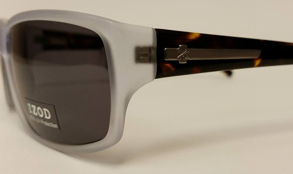 b3de152ccf For the men  This Izod crystal matte frame comes with a dark tortoise  temple.