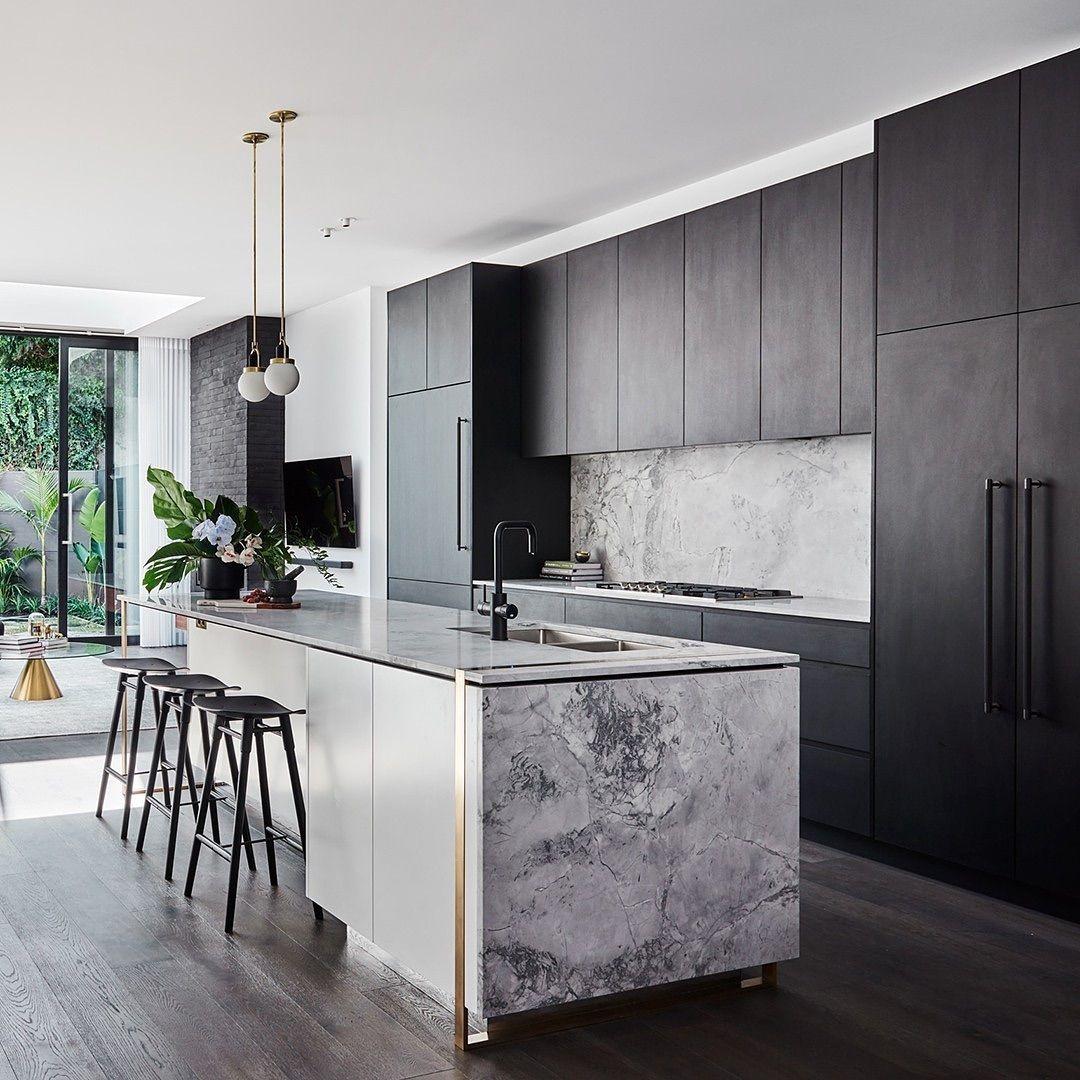Buster Punch On Instagram Kitchen Game Strong W Smoked Bronze Closet Bars Space By Alisa L Interior Design Kitchen Stylish Kitchen Home Decor Kitchen