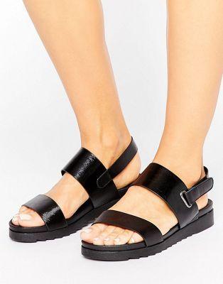 753bcf799df Blink Summer 2part Flat Sandal. Discover Fashion Online Black Wedge ...