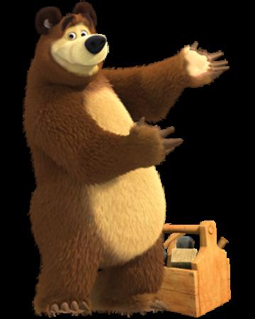Bear Masha And The Bear Wiki Fandom Powered By Wikia Masha And The Bear Marsha And The Bear Bear