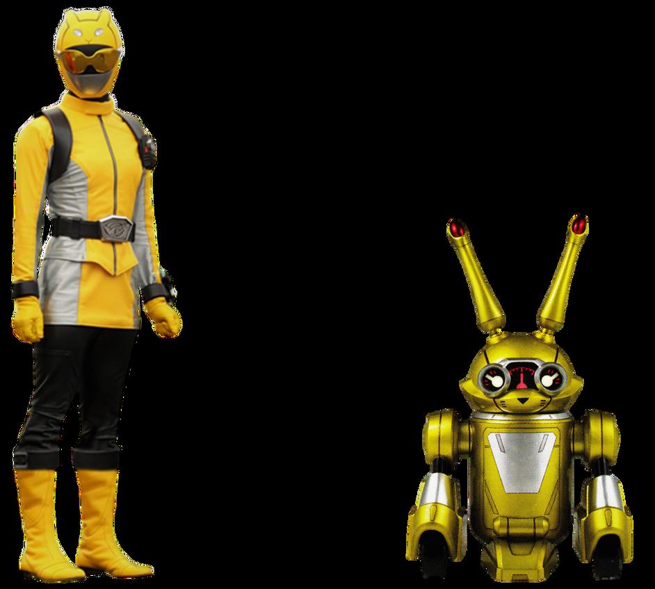 Beast Morphers Yellow Ranger, Jax Transparent! by Camo