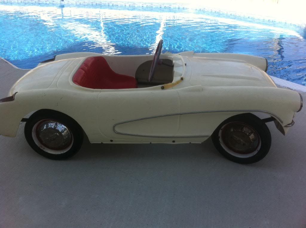 1956 Eska Corvette Pedal Car For