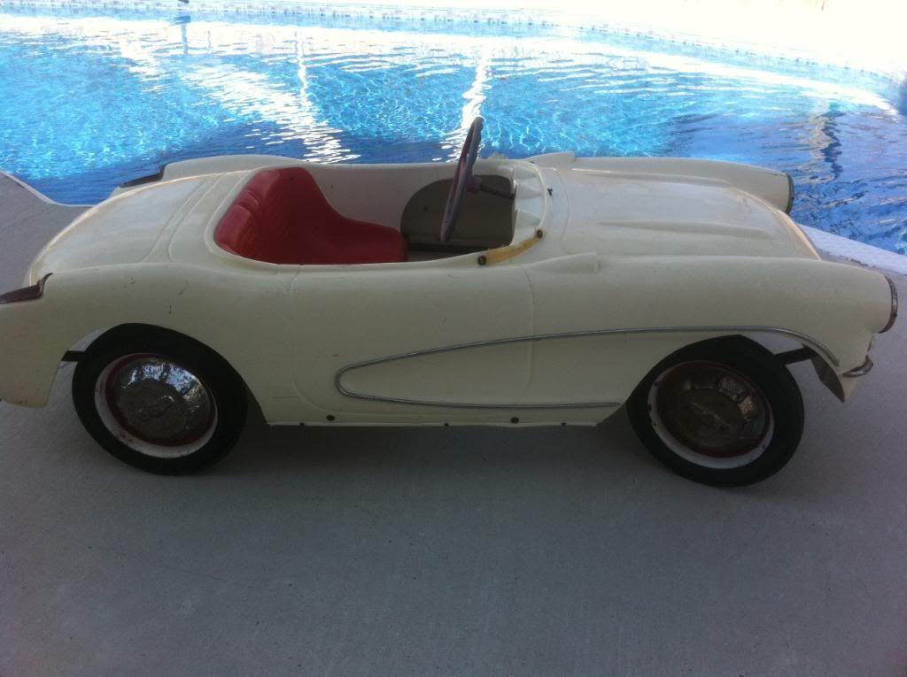 pedal cars for sale | 1956 Eska Corvette Pedal Car for sale ...