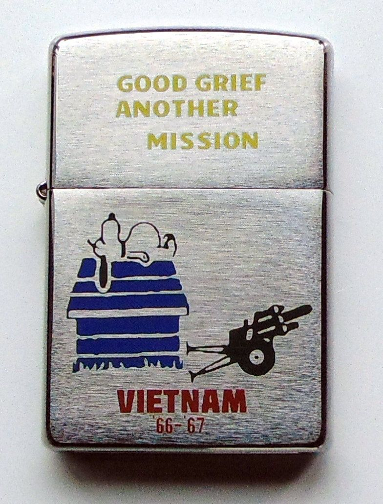 Limited Edition ZIPPO Lighter in Orig Very Rare* Box SAIGON 66-67 Vietnam War