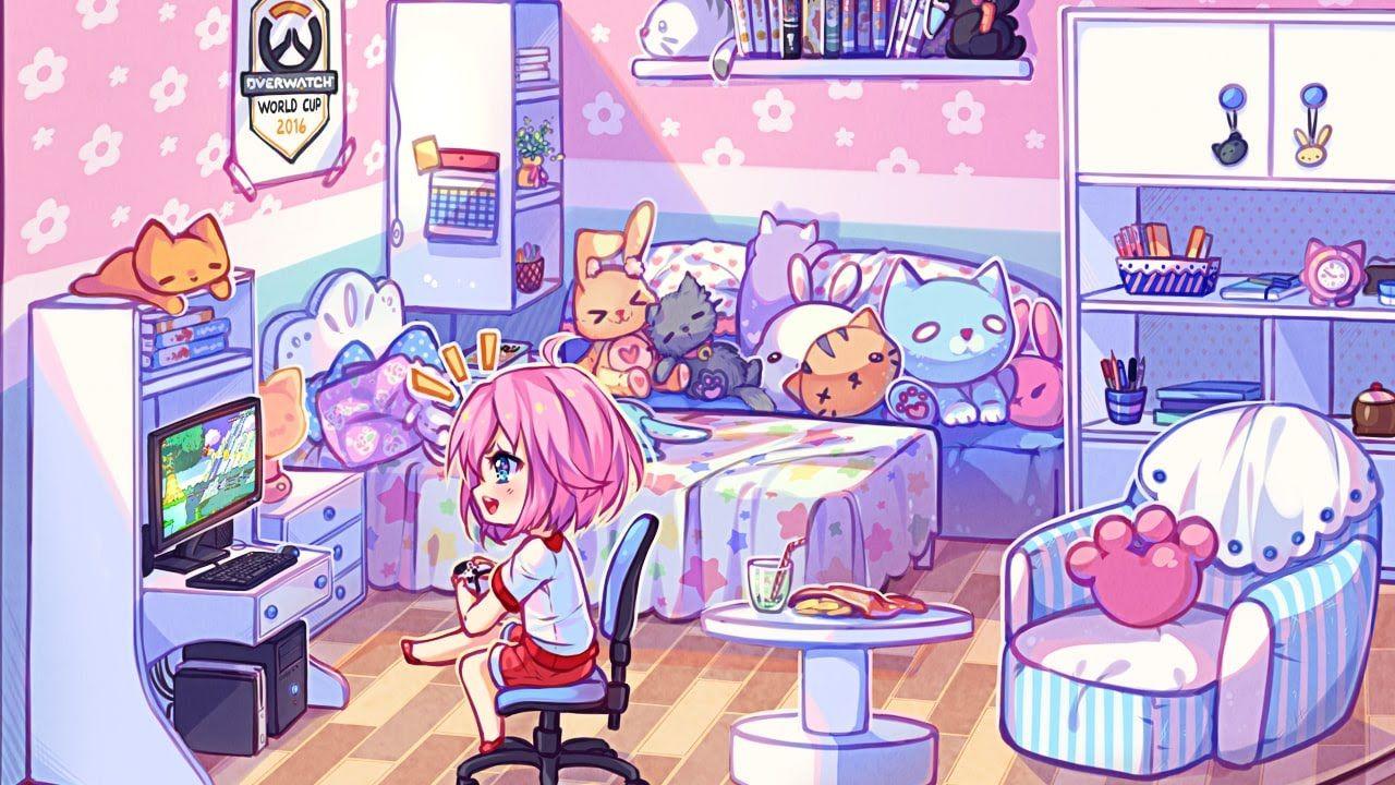 Chibi 134 48 Beautiful Speedpaint Game Room Chibi Hyan Timelapse 134 In 2020 Anime Chibi Chibi Natsu