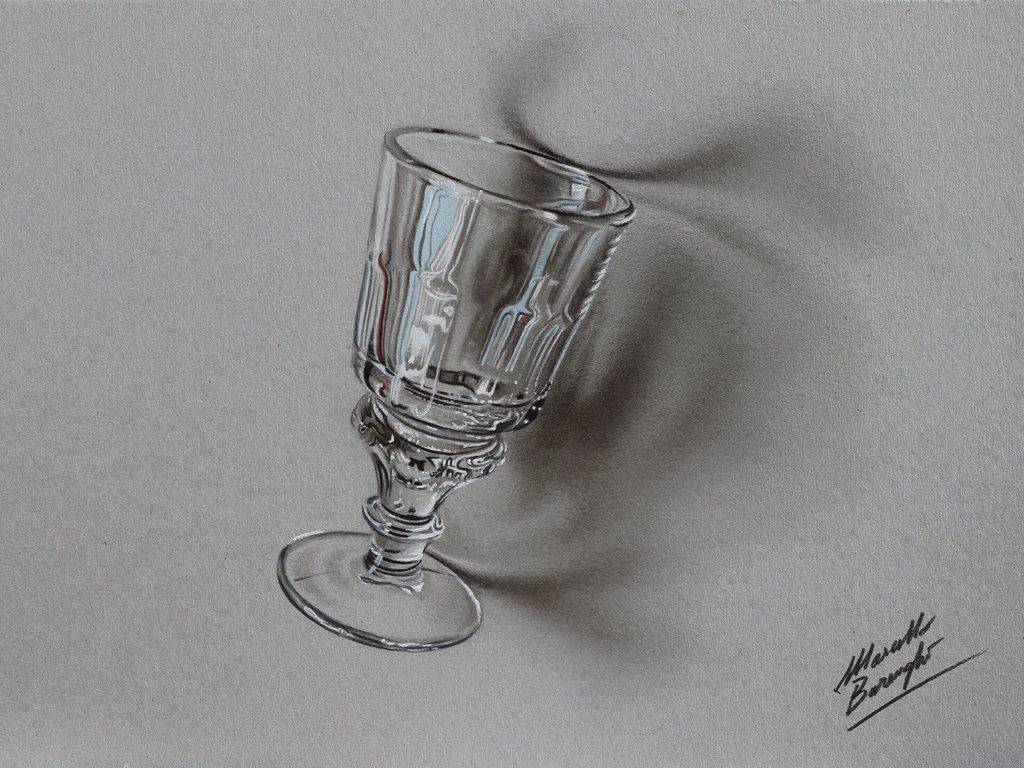 An Absinthe glass - drawing by marcellobarenghi.deviantart.com on ...