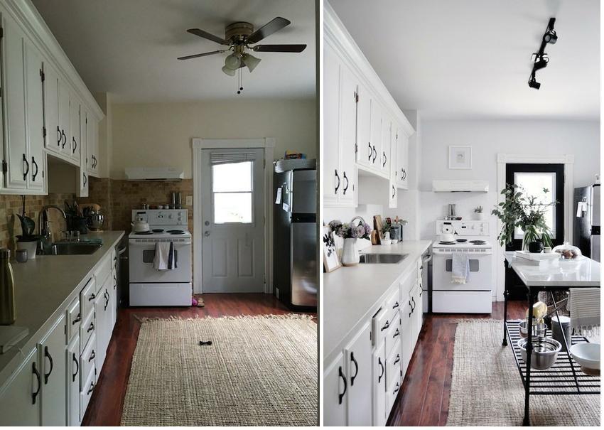 Antes y después, cómo reformar la cocina sin obras | Decor ...