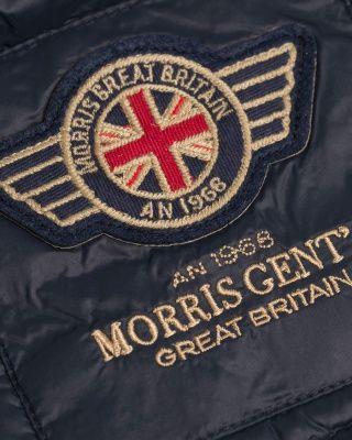 Morris Henry Light Down Jacket Blue hos | Men