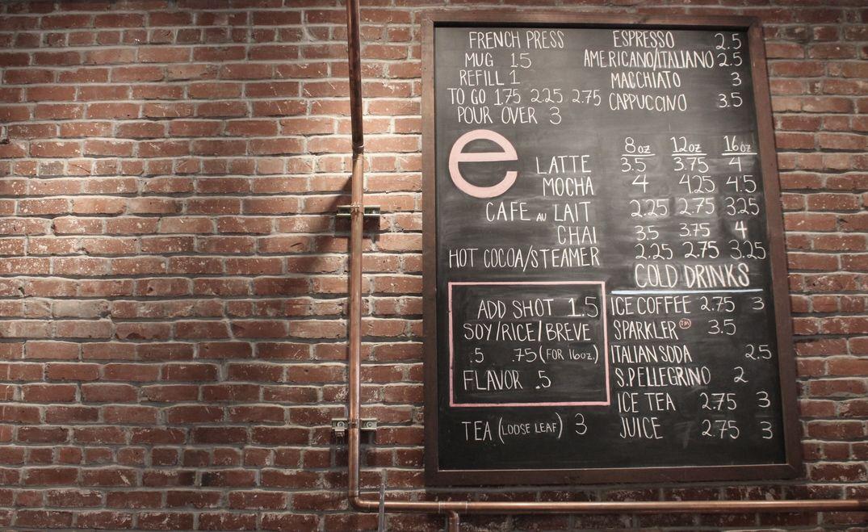 coffee house menu monton