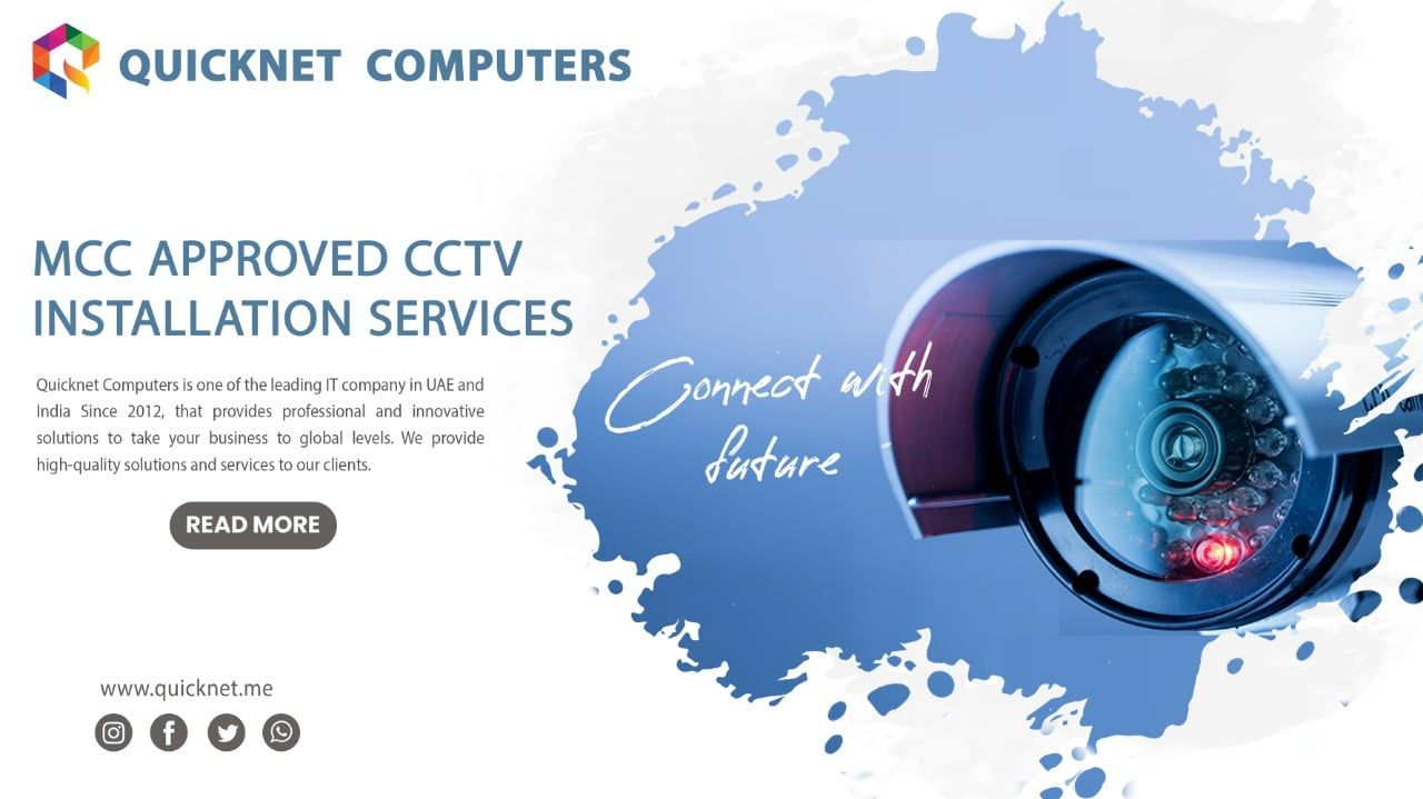 MCC Approved Best CCTV Company In Al Ain, Abu Dhabi