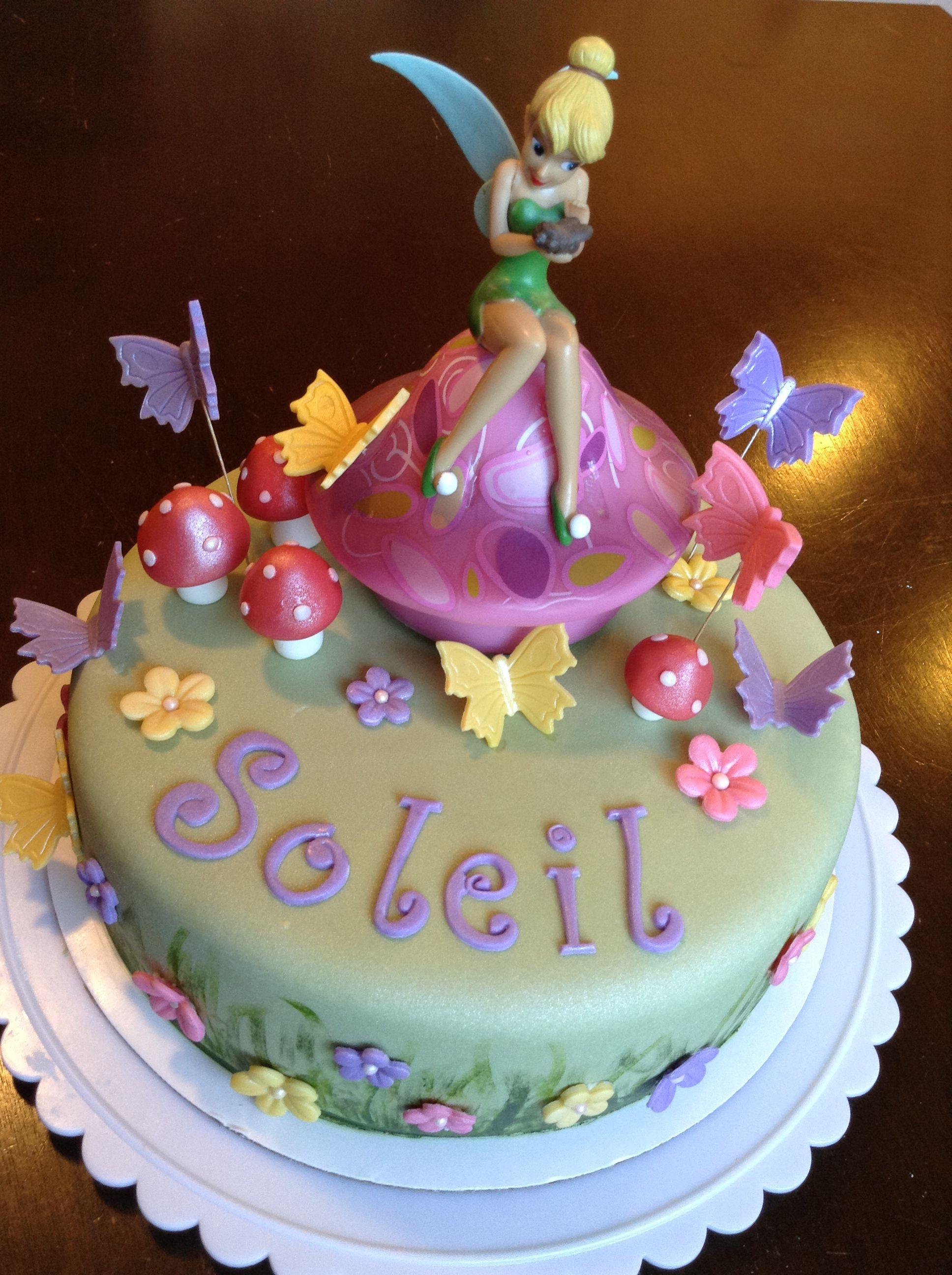 Fairy theme cake | Cake, Themed cakes, Desserts