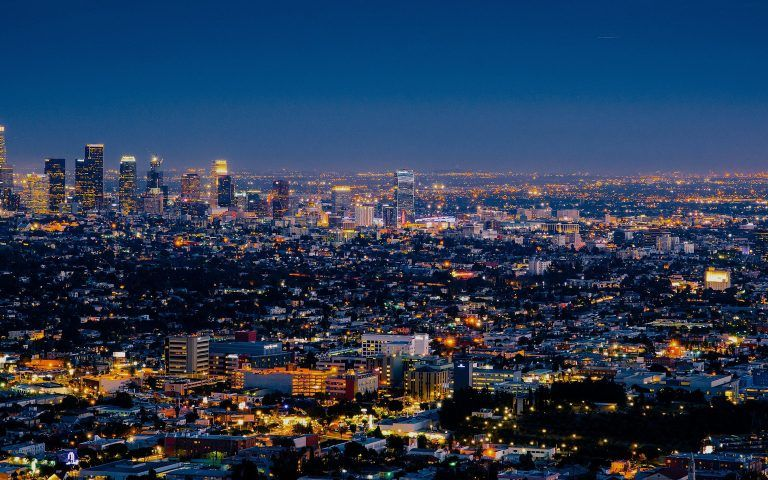 Macbook Air Wallpapers Free Download City Lights At Night Night