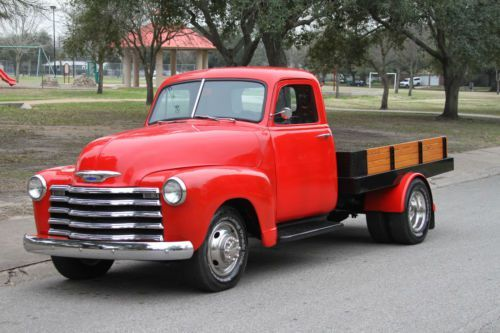 Purchase New 1953 Chevrolet 1 Ton Pick Up In Houston Texas