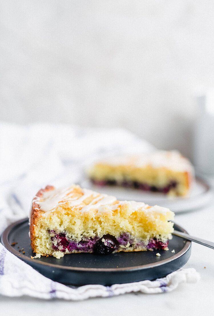 Sour Cream Lemon Blueberry Cake Truffles And Trends In 2020 Blueberry Lemon Cake Lemon Blueberry Coffee Cake Recipes