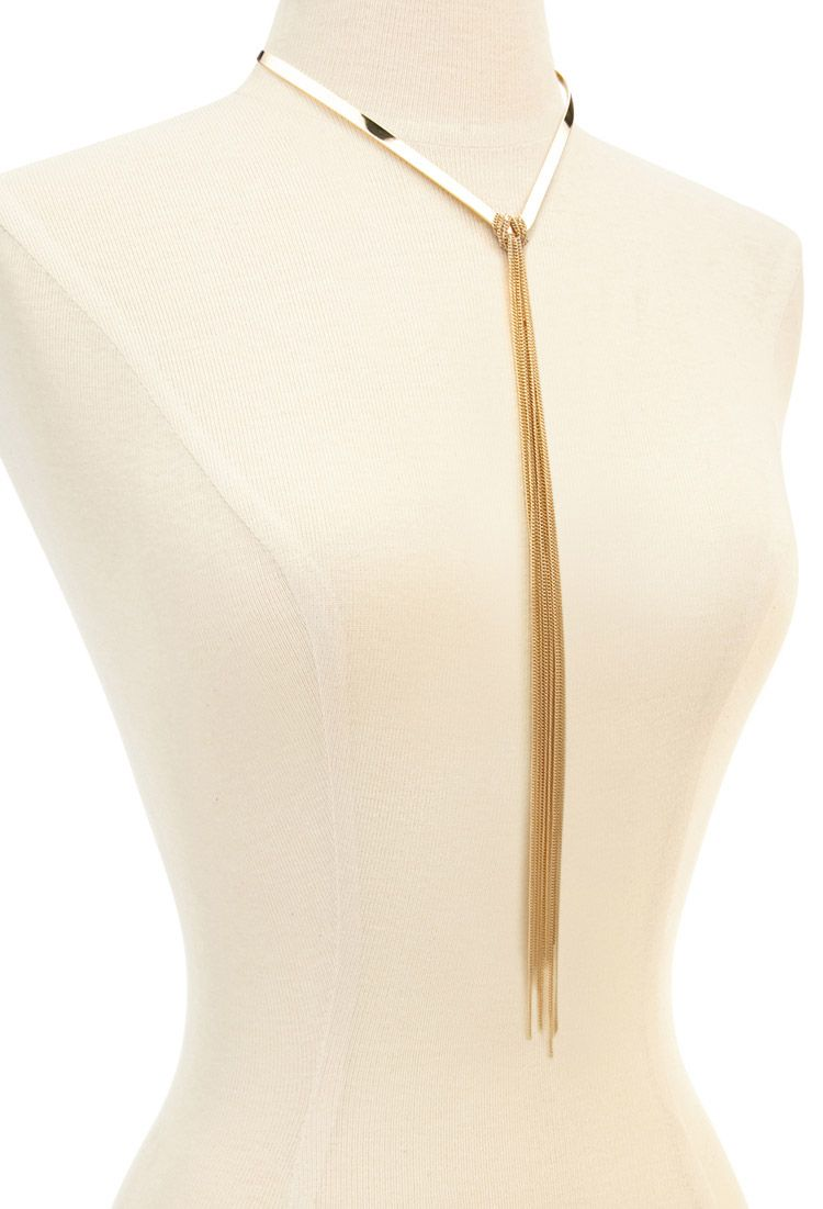 Hanging Chain Necklace from Forever 21, $7.90