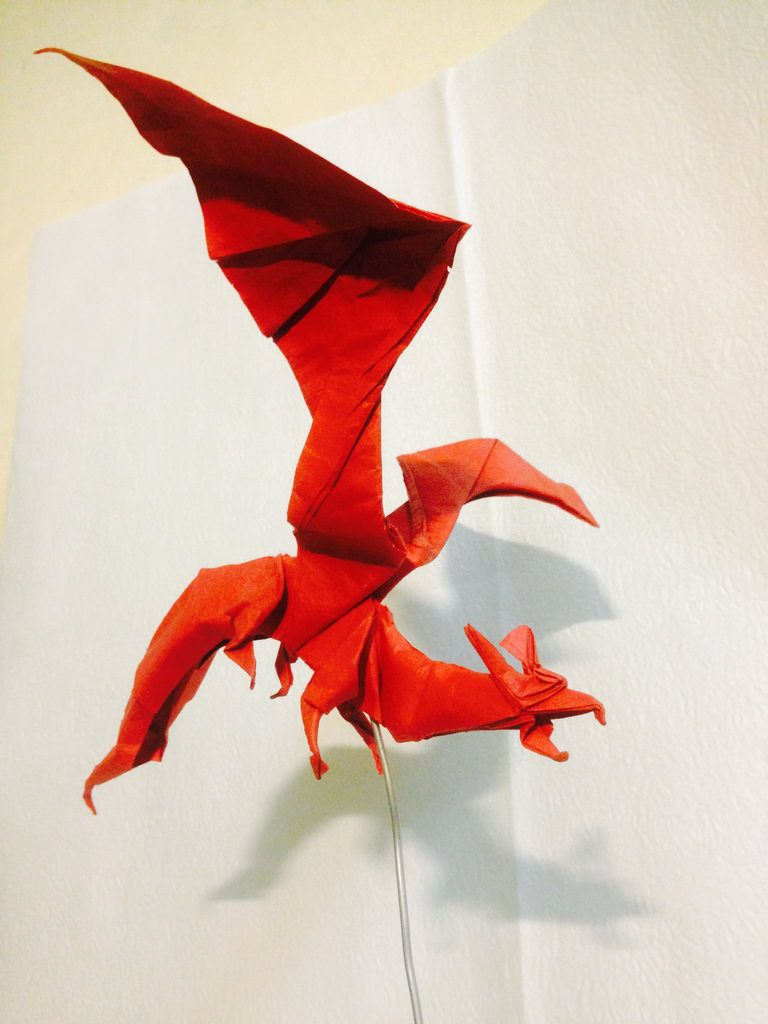 Dragon By Gen Hagiwara Huynhducle1403 Origami I Like Ancient Diagram Dragons December Train Your