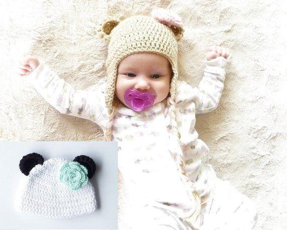 f149823ac Crochet Bear Hat Pattern Bear Hat Crochet Pattern Crochet Earflap ...