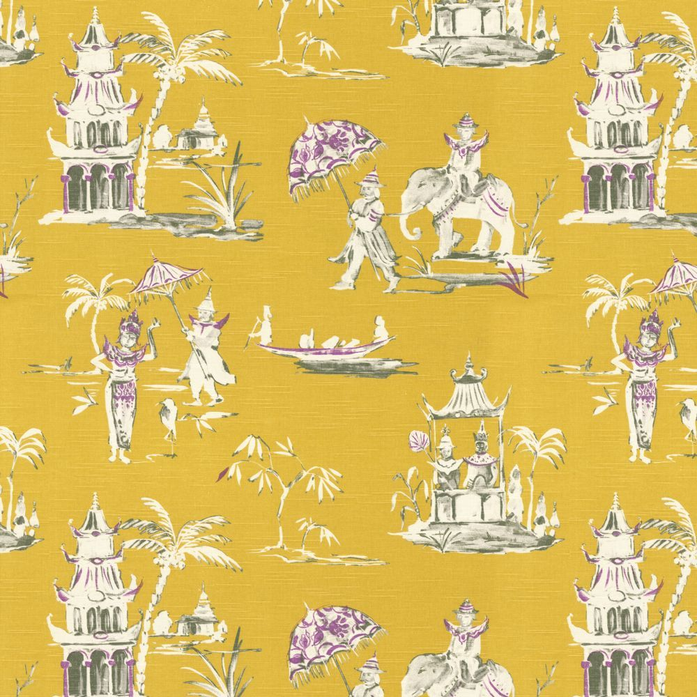 Dynasty - Honey | Chinoiserie fabric, Chinoiserie and Fabrics