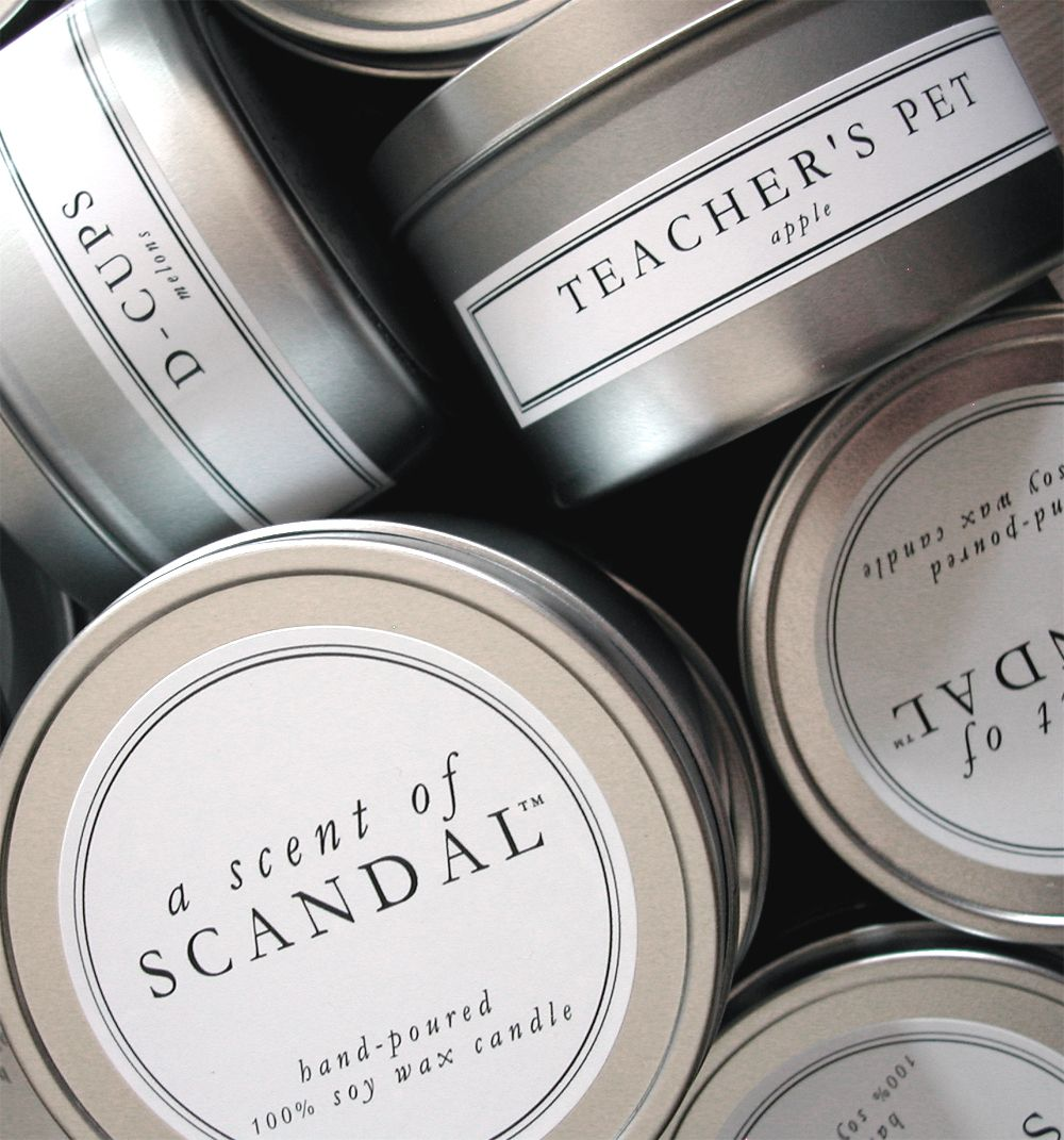 Great simple packaging packaging pinterest velas - Etiquetas para velas ...
