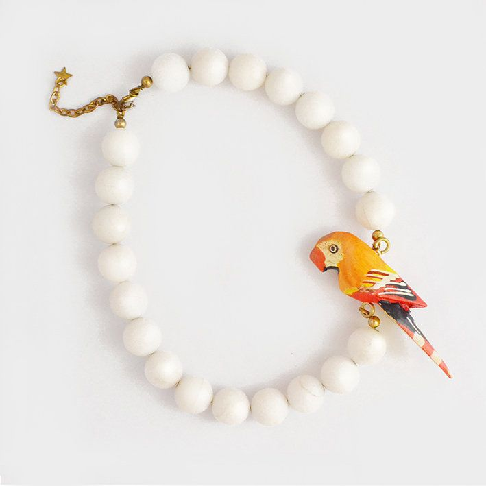 Parrot Necklace for the summer