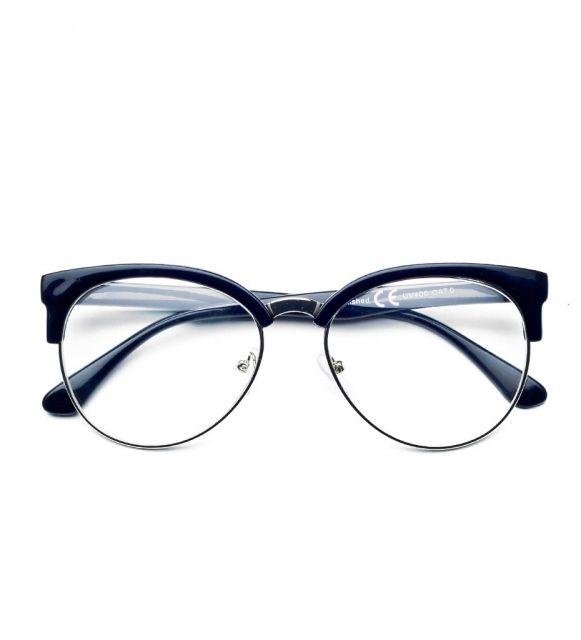 Okulary Zerowki Clubmaster Brylove Lascano Clear Lens Glasses Lens Clubmaster