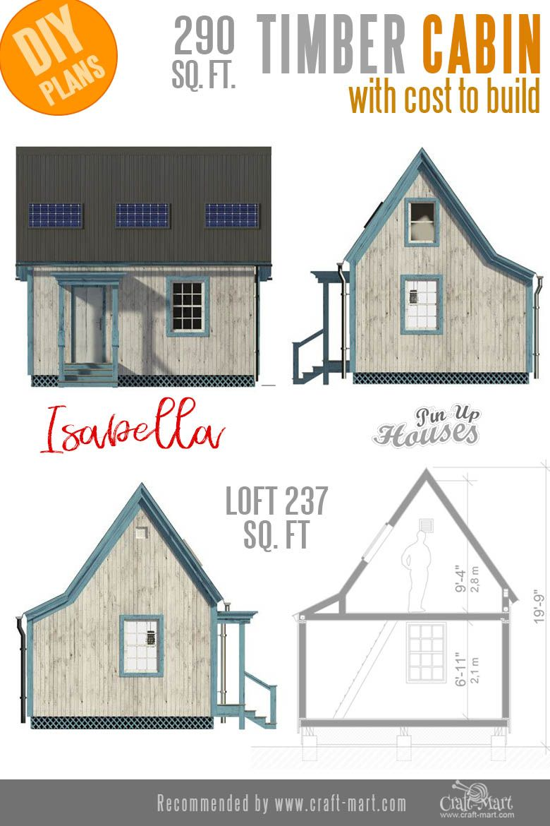 Awesome Small And Tiny Home Plans For Low Diy Budget Craft Mart Tiny House Plans Small House Plans House Plans