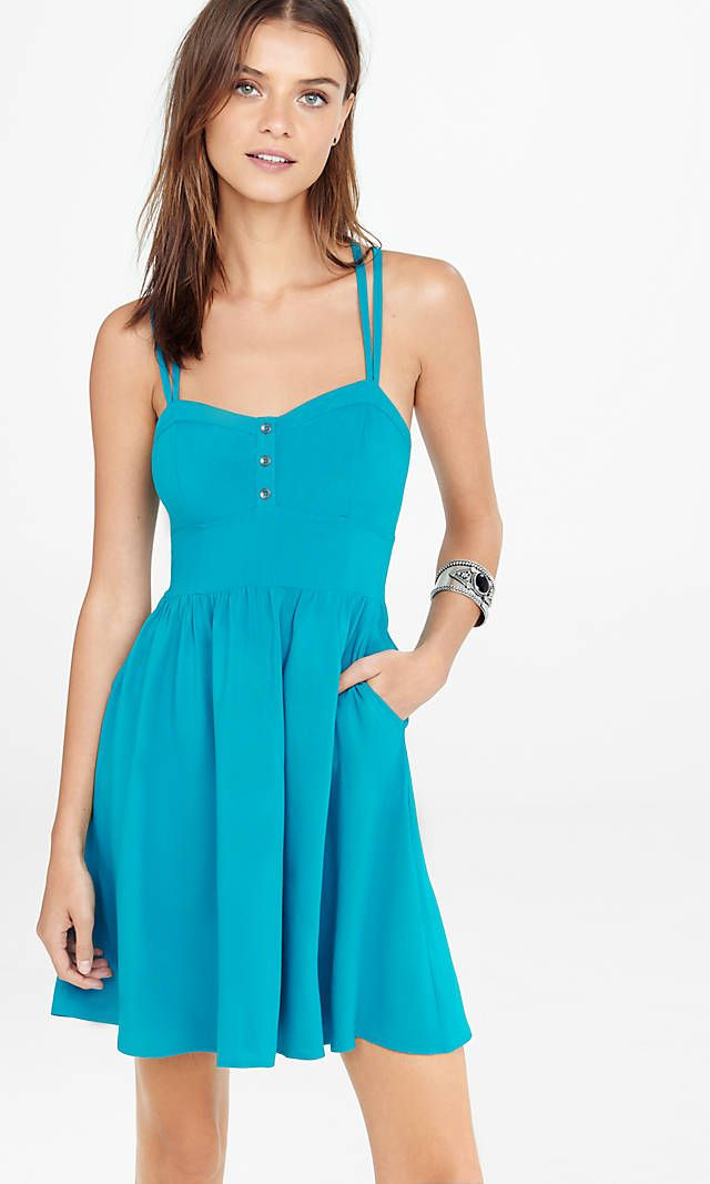a1c61fea1e Strappy Cami Sundress from EXPRESS