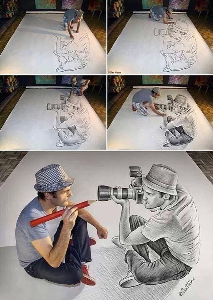 Dibujo 3D.