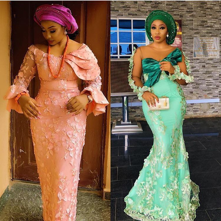 b656985f0ed Check out trending dresses for 2018. Check out trending dresses for 2018. Nigerian  Lace Styles
