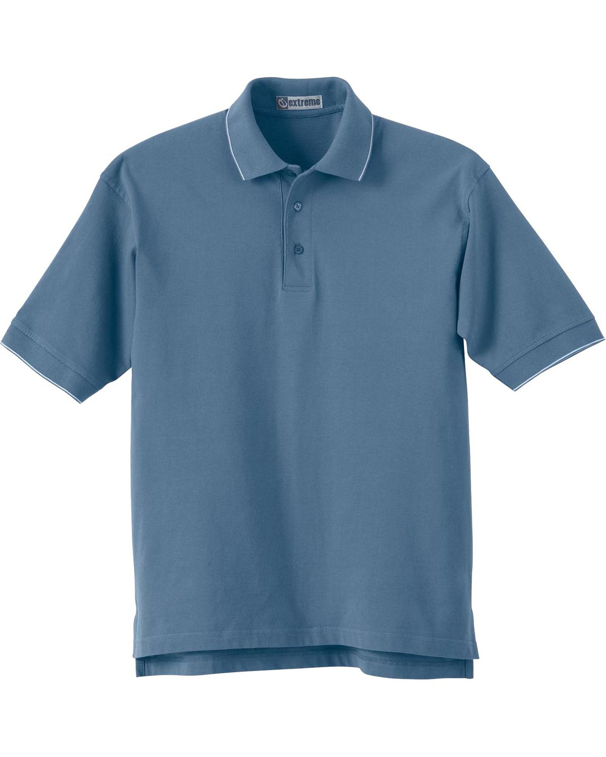 Extreme Mens Cotton Jersey Short Sleeve Polo Shirt 85032
