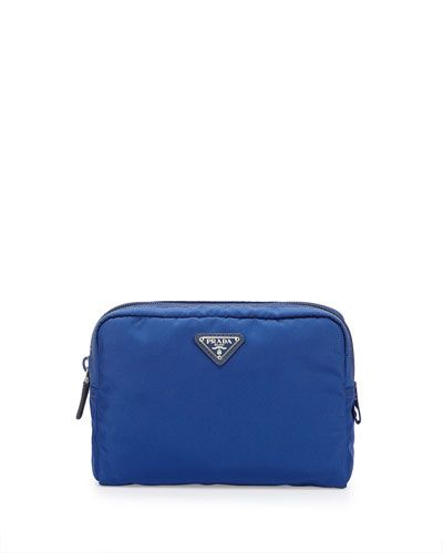 087d93955a0ca8 PRADA Vela Large Cosmetics Case. #prada #bags #nylon #cosmetic #accessory