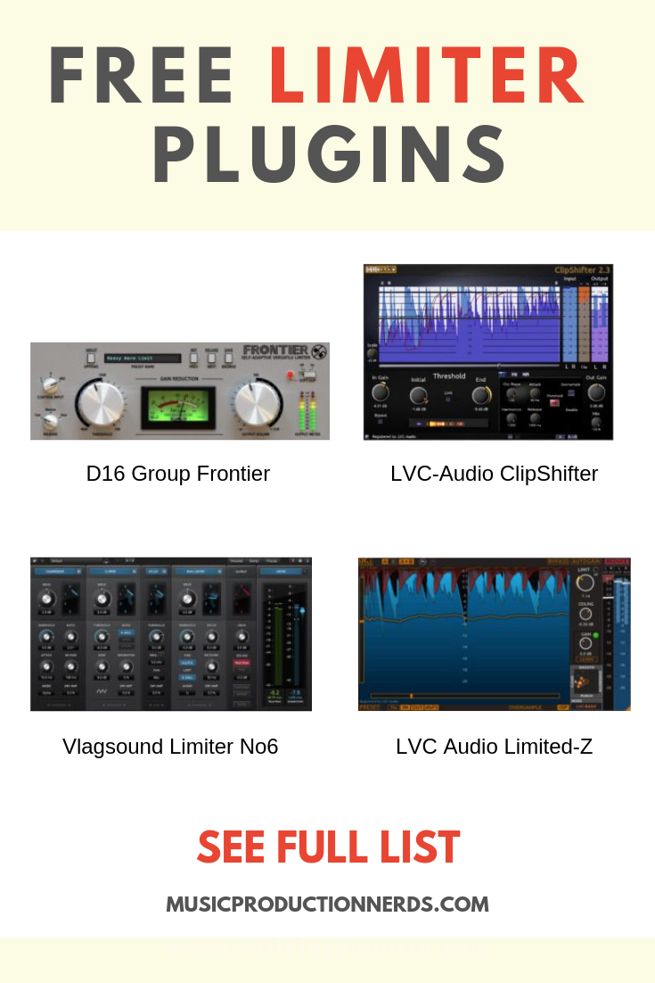The best free limiter plugins can measure up to the priciest
