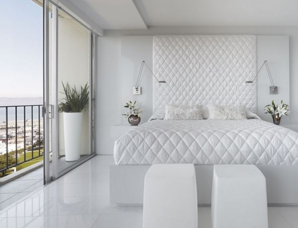 Schlafzimmer komplett in weiß einrichten Ein Traum in weiß - schlafzimmer einrichtung sie ihn