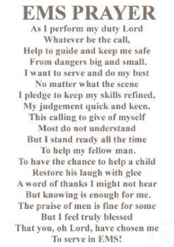 db648faf53 Poem : The EMS Prayer | ambulance | Ems week, Ems quotes ...