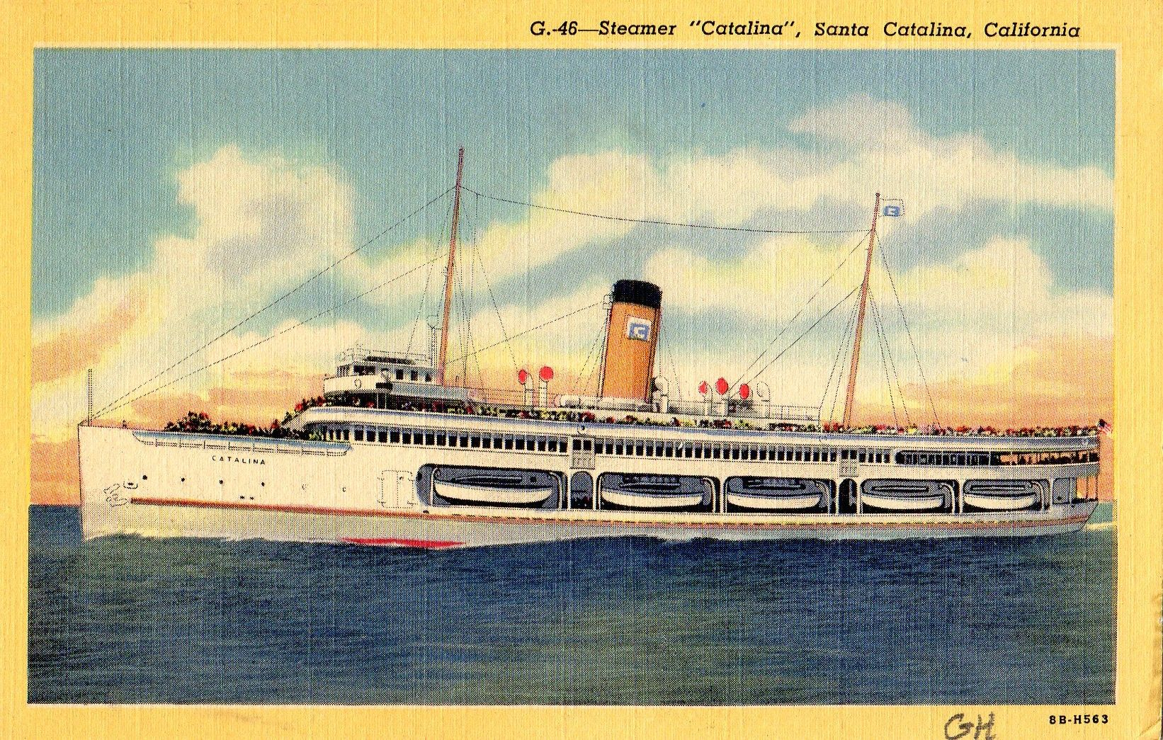 1940 S Postcard Hagins Collection California Postcard Old