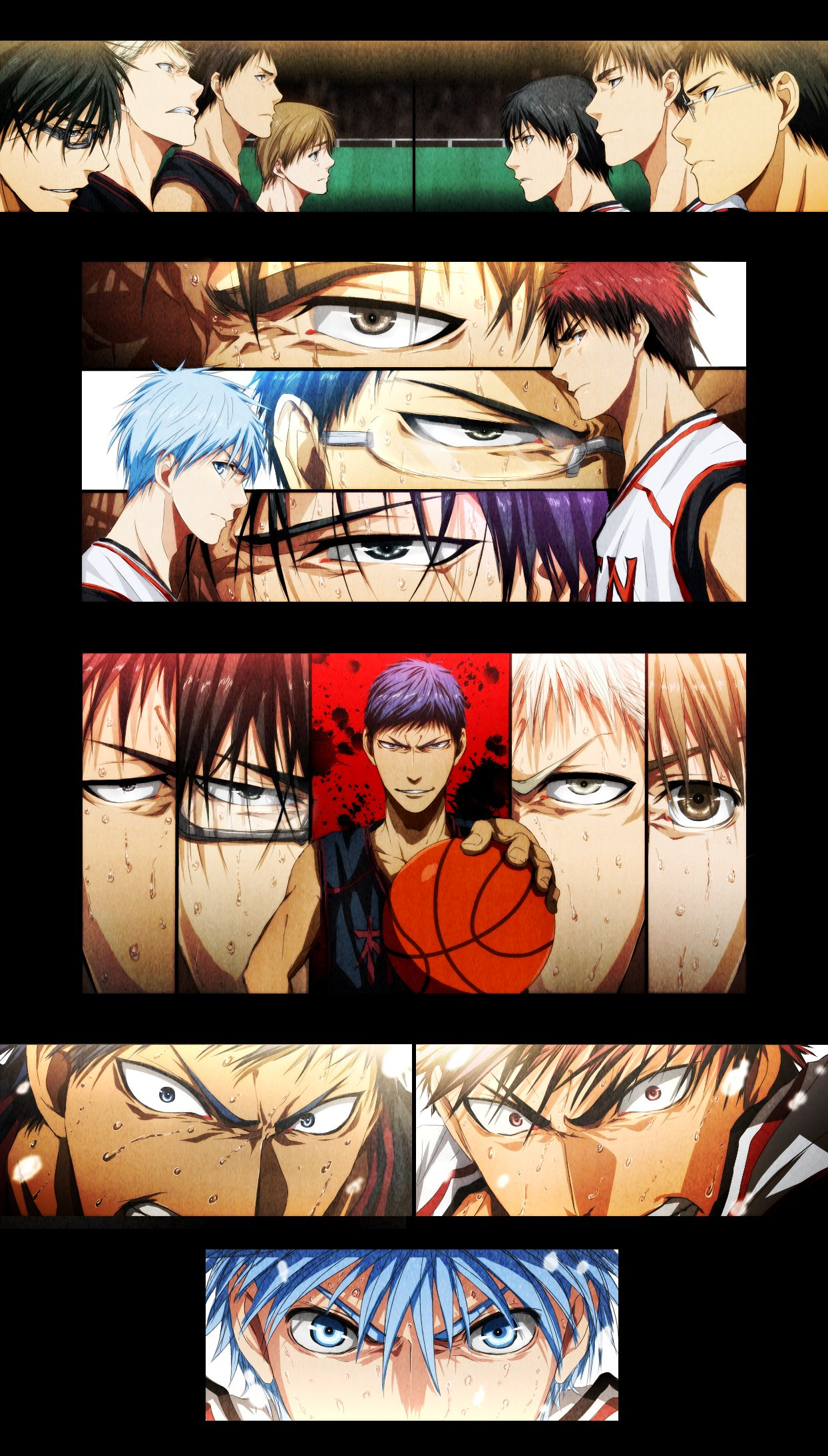 Pin by Kamui Yato on Anime Kuroko no basket, Kuroko's