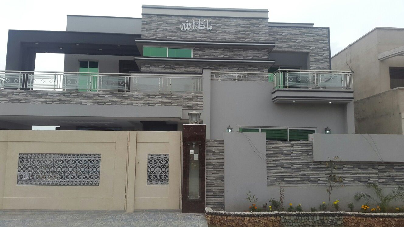 Front Elevation Bahria Town : Bahria town lahore kanal house for sale this is bed