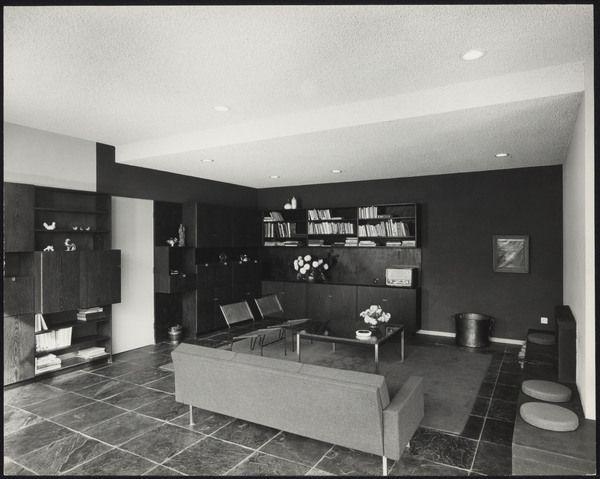 Afbeelding van woning van slobbe heerlen 1964 interieur for Bekende nederlandse interieur designers