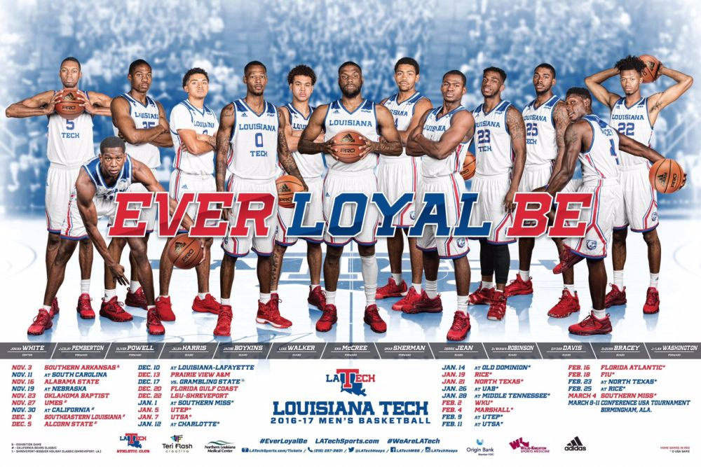 201617 NCAA Men's Basketball Schedule Poster Gallery