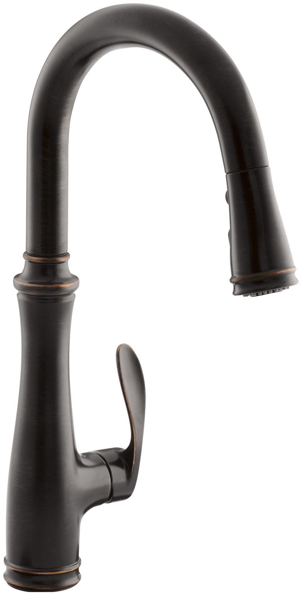 Kohler K560VS Bellera PullDown Kitchen Faucet, Vibrant