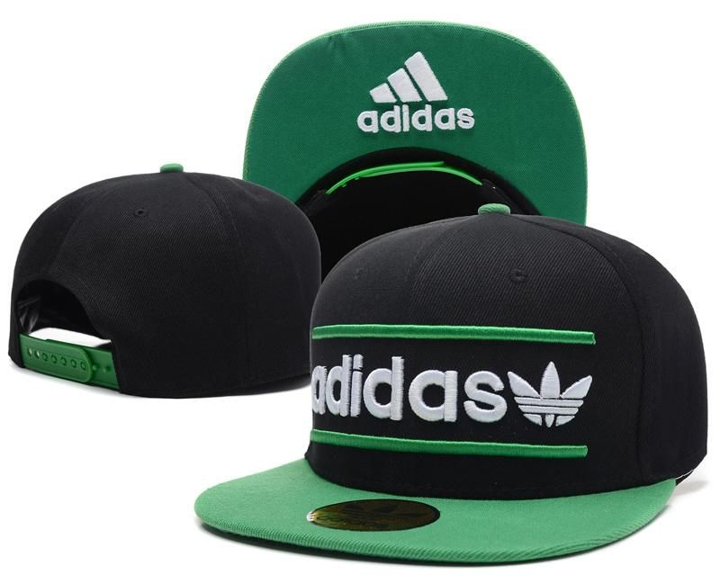 f3dcf94f6e087 Mens Adidas Originals Heritage USA Top Seller Best Quality Fashion Snapback  Cap - Black   Green   Green