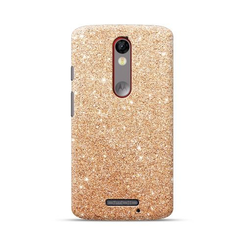 best website 02b3a 83e93 Check out this amazing Motorola Droid Turbo 2 Rose Gold Bling ...