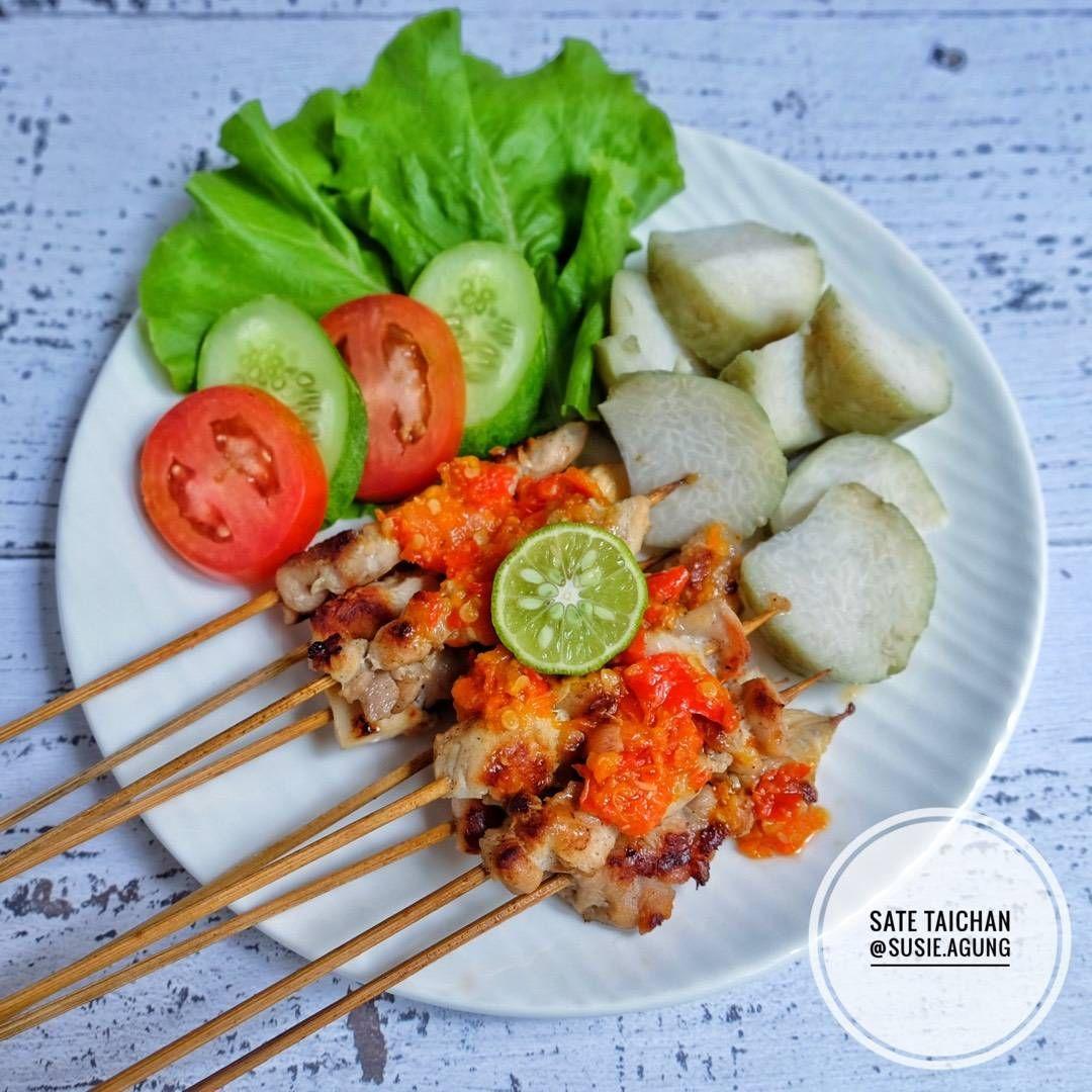 Resep Sate Taichan Oleh Susi Agung Resep Resep Masakan Asia Masakan Asia Ide Makanan
