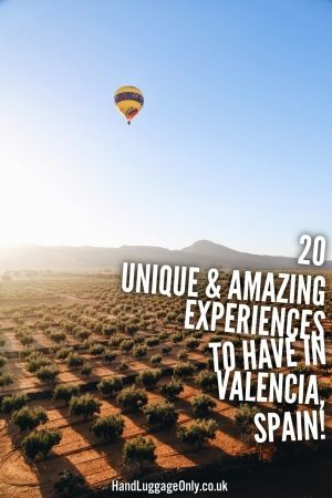 20 Unique And Amazing Experiences To Have In Valencia, Spain | Hand Luggage Only | Bloglovin'
