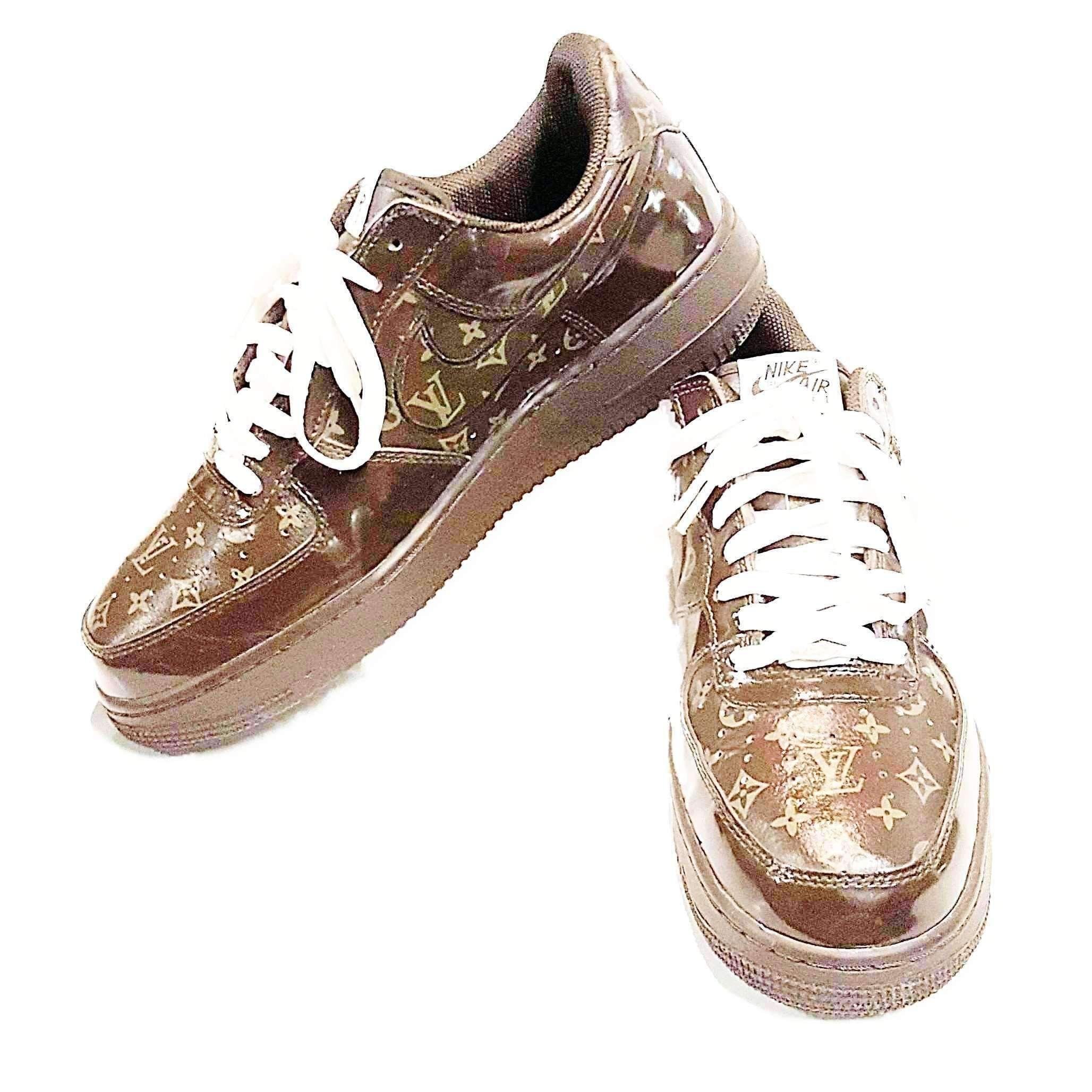 Nike Air Force X Louis Vuitton Men Sneakers Size 10