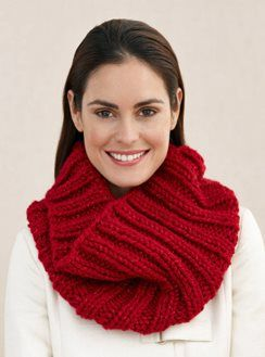 Love-Inspired Contest | Snood knitting pattern, Lion brand ...