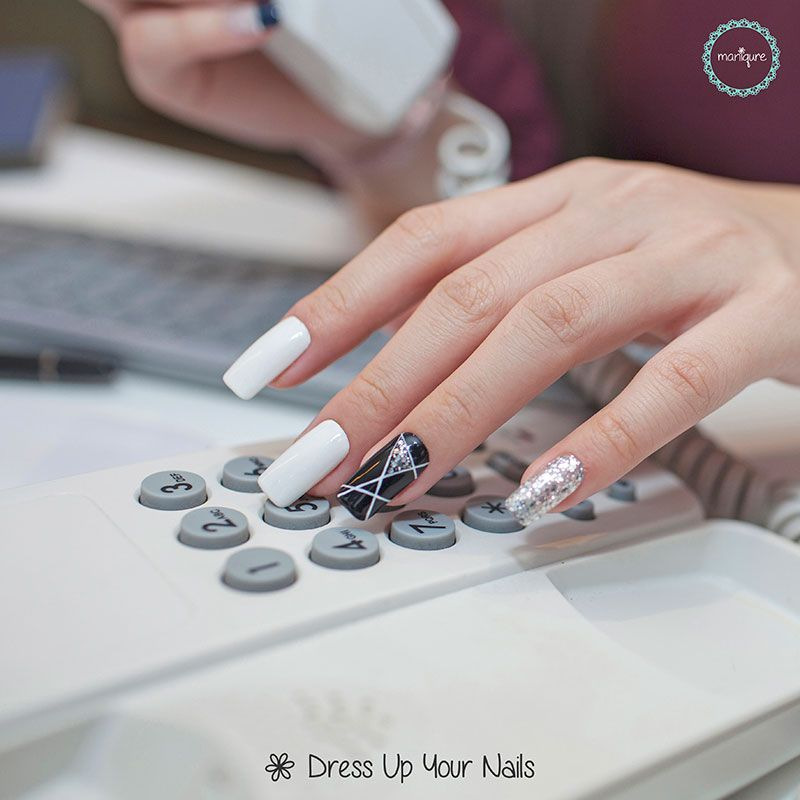 Office Nails - Work Appropriate Manicure   Office nails, Ootd and ...