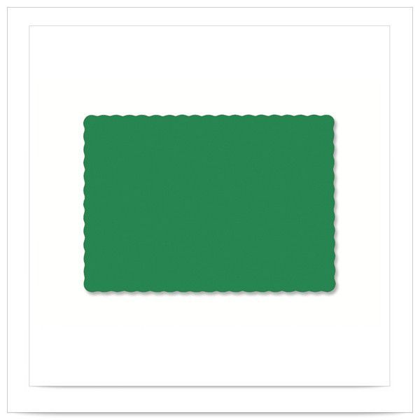 9 1/2 x 13 1/2 Jade Economy Placemat/Case of 1000